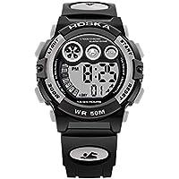 WULIFANG Männer LED Digital Military Watch Kalender Sport Watch Fashion Outdoor Watch
