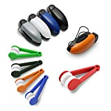 JUMINE 5pcs Glasses Clip Auto Car Vehicle Sun Visor Sunglasses Eyeglasses Holder +