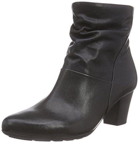 Gabor Comfort Basic 36.582, Bottes femme Noir - Schwarz (schwarz (Micro) 27)