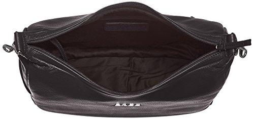 Bree Nola 6 borsa a spalla pelle 32 cm compartimenti portatile schwarz