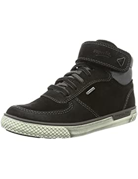 Superfit LUKE 700441, Jungen Hohe Sneakers, Blau (NIAGARA KOMBI 94)