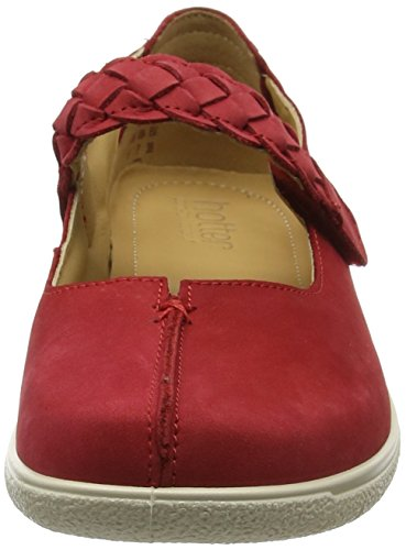 Hotter Shake, Mary Jane Femme Red (Crimson)