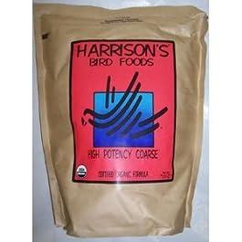 Harrison's High Potency Coarse, mangime completo per pappagalli, 2,3 kg