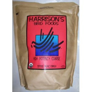 Harrison`s High Potency Coarse 5lb – Complete Parrot Diet