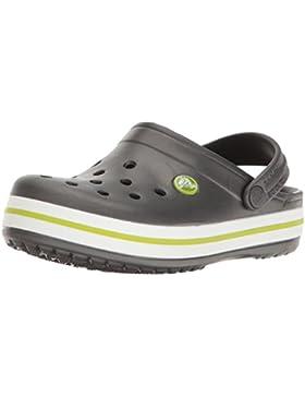 Crocs Crocband Clog K Gpt/Vgr, Zuecos Unisex Niños