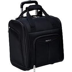 AmazonBasics Bagage cabine compact, Noir