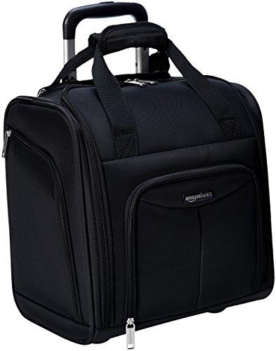 Schwarze Sitz (AmazonBasics - Koffer zur Aufbewahrung unter dem Sitz, Schwarz)