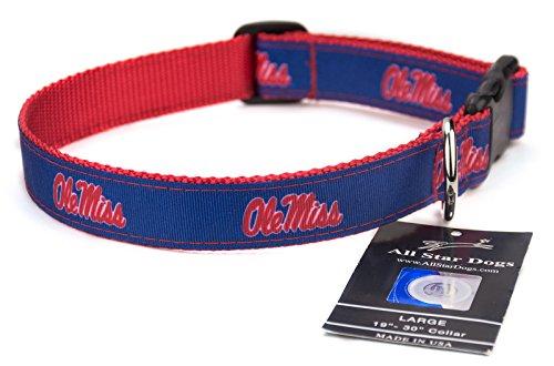 sippi Rebels Hundehalsband, Lg 1in w - Fits 19in-30in, blau ()