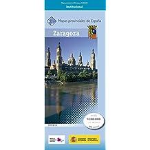 CNIG - Mapa provincial de Zaragoza, escala 1:200.000, dimensiones 140 x 105 cm
