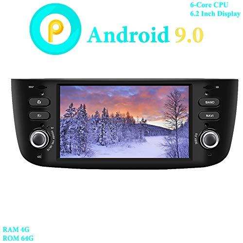 XISEDO Android 9.0 Autoradio 6.2 Pulgadas 6-Core RAM 4G ROM 64G In...