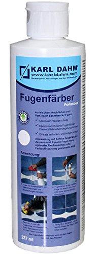 Fugenfärber für frische saubere Fugen, verschiedene Farben zur Fugenreparatur, 12432, Colorieren und Versiegeln (dunkel anthrazit)