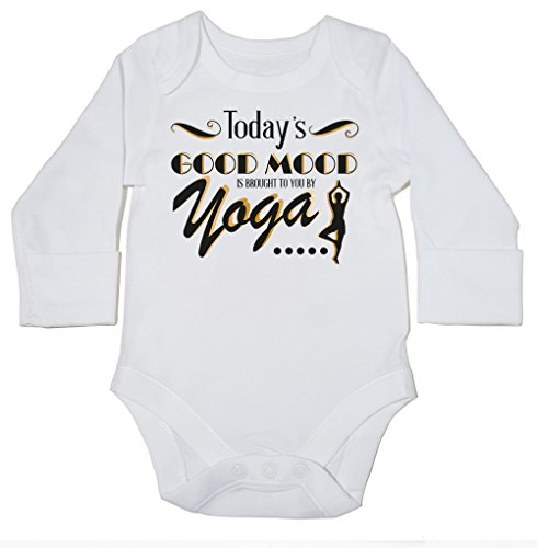 hippowarehouse-todays-good-mood-is-brought-to-you-by-yoga-baby-bodysuit-long-sleeve-boys-girls