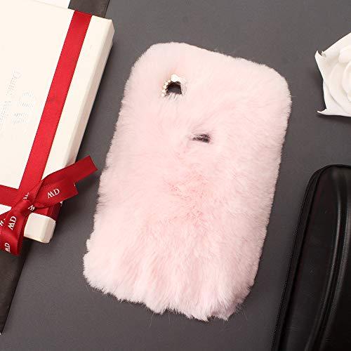 """Miagon Handyhülle für iPhone Xr 6.1"""",Diamant Schutzhülle für iPhone Xr 6.1"""", Liebling Lustig Kunstpelz Plüsch Fluffy Glänzend Handytasche Schale für iPhone Xr 6.1"""""""