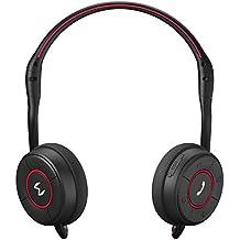 Moudio M100 bluetooth stereo senza fili, cuffie intelligenti, tracciatura del consumo calorico, Fitness Monitor, Cuffia sportiva, musica in streaming, chiamate vocali con Android e IOS APP a mani libere (M100/Nero)