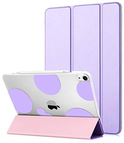 Dailylux Schutzhülle für iPad Pro 11, Romantic Bubbles-Purple