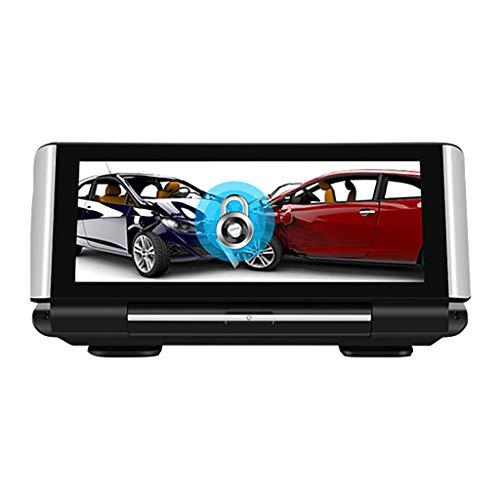 1080P HD Aufnahmegerät fahren Wasserdicht Auto Rückfahrkamera 150 ° Weitwinkel Linse DVR Dash Cam Großes Dashboard Kabellos Mittelkonsole GPS Nachtsicht Fahrtenschreiber Bewegungserkennung Überwachung