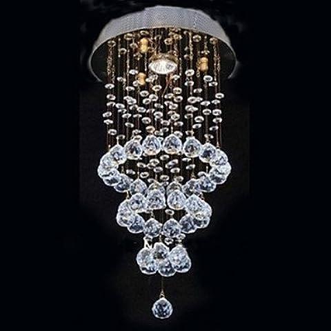 ASNSWDC® K9 Crystal Ciclo Diseño Lámpara Con 1 Luz , 220-240V