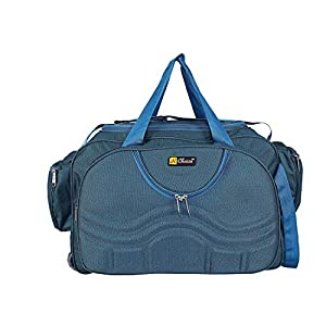 N Choice Unisex Fabric Blue Duffel bag