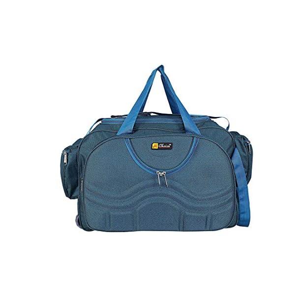 N Choice Unisex Fabric Blue Duffel bag
