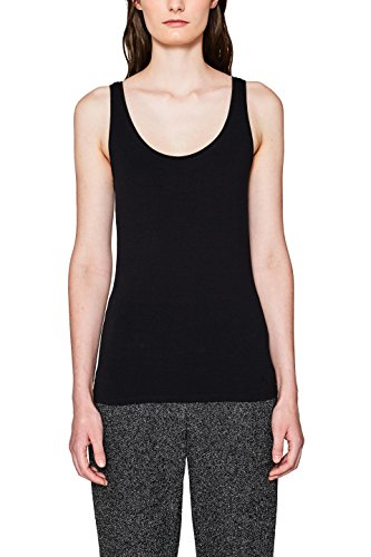ESPRIT Damen Top 997CC1K816, Schwarz (Black 001), Small