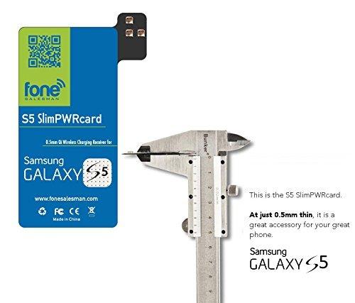 S5 SlimPWRcard - 0.5mm Modulo receptor de Qi de tarjeta ultra delgada...