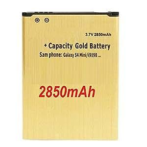 GOLD Haute Capacité Batterie 2850 mAh pour le Samsung i9190 Galaxy S4 mini