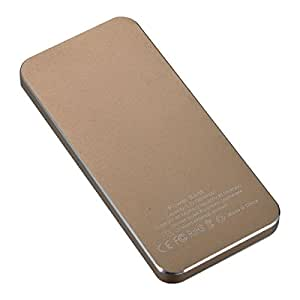 """5600mAh"" Aluminum Power Bank External Battery Pack for iPhone / iPad / Samsung"