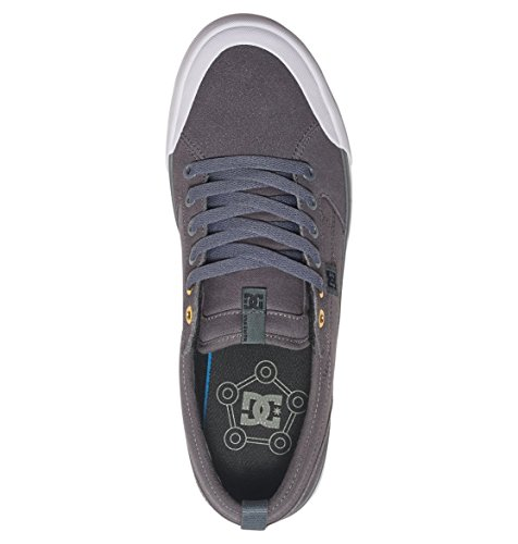 DC - - Männer Evan Smith S Low Top Freizeitschuh Charcoal