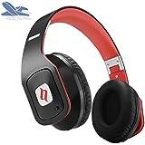 Noontec Hammo Go Votrik HD 500 Kopfhörer SCCB Audio Technologie mit Mikrofon und Noise Cancelling unterdrückt Nebengeräusche schwarz