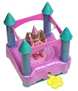 Barbie Shelly Trampo Chateau Mattel