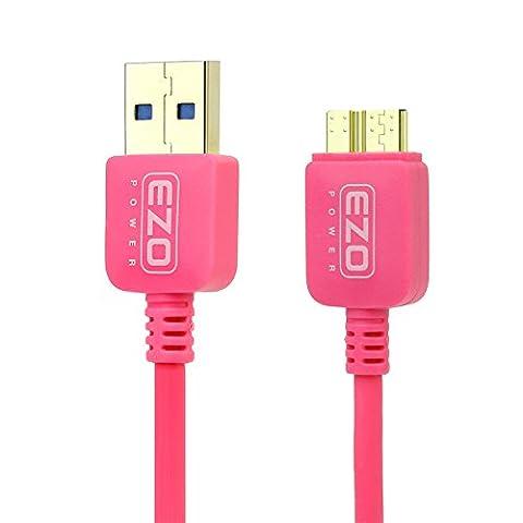 EZOPower Superspeed Câble USB 3.0 Mâle A / Mâle Micro