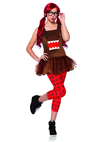 (Domo Nerd Teen Costume Medium/Large)