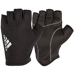 Adidas Essential Unisex Glove, Black / White, M