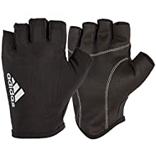 adidas Essential Gloves, Black/White, Small