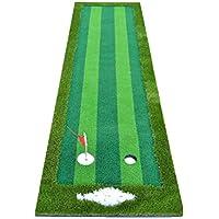Jia He Tapetes de Golf Golf Indoor Practice Mat Putt Práctica tapete 3m @