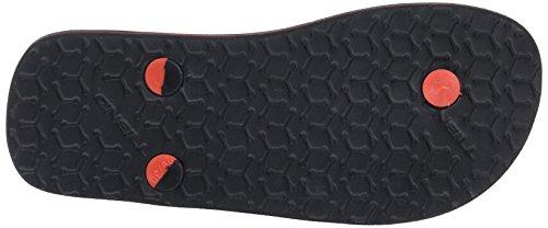 O'Neill - Fb Profile Pattern Flip Flops, Scarpe da Spiaggia e Piscina Bambino Nero (Black Aop)