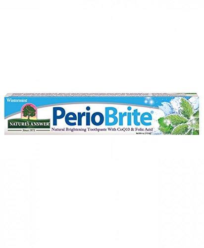 4 Unze Zahnpasta (Nature's Answer - PerioBrite natürliche Zahnpasta Wintermint - 4 Unze.)