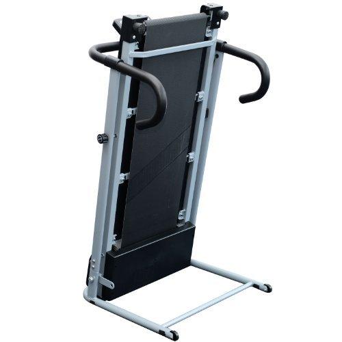 Homcom Laufband Elektrisches Fitnessgerät Klappbarer Heimtrainer mit LCD-Display 150 kg Belastung 500 W, schwarz-silbergrau, B1-0097 - 4