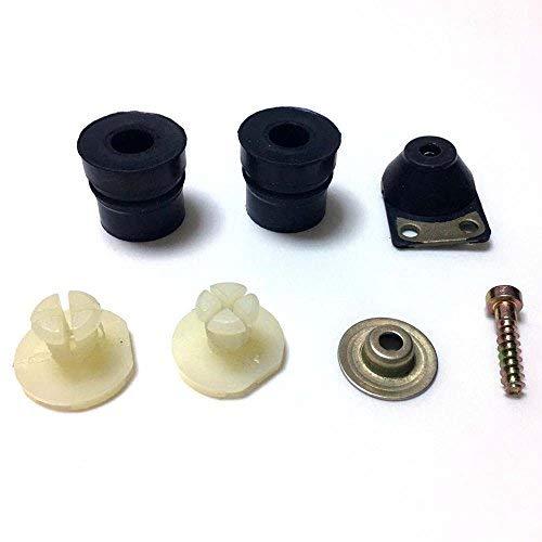 AM 7 Stück Vibrationsdämpfer Gummipuffer Ringpuffer Buffer Set für Stihl 026 024 MS240 MS260 Motorsäge Vibrationsgummi Anti-Vibrations-Dämpfer Set # 1121 790 9901, 1121 790 9912, 1121 790 9909
