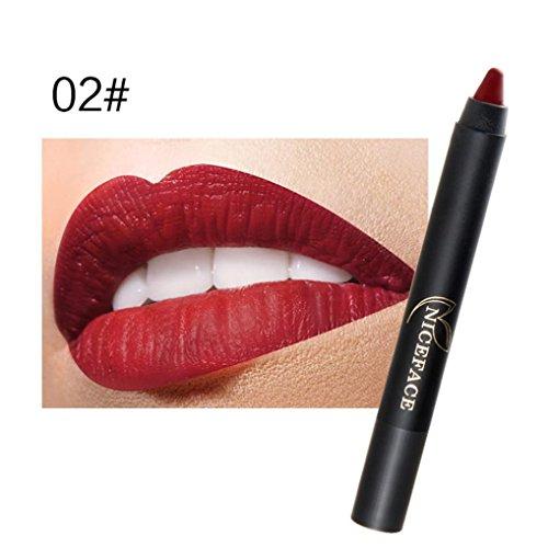 ESAILQ Damen Beauty Make-up Wasserdichte Pen Hydrating lange anhaltende Lip Gloss Pen (Kit Hydrating)
