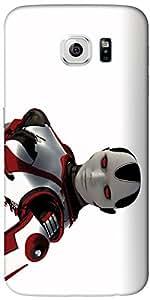Timpax Protective Armour Case Cover. Multicolour Printed Design : A Robot.Specifically Design For : Samsung Galaxy S6 edge ( SM-G925 )