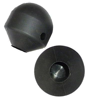 Onda Motion Zubehör 2 Ersatzgummifüße für Longboard-Landpaddling-Sticks, 4280000643643