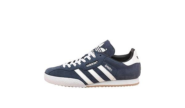 Herren adidas Originals Samba Super Wildleder Blau Retro