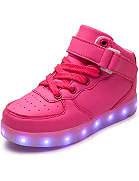 DoGeek Uomo Scarpe LED Luminosi Sneakers con Luci Accendono Scarpe Uomo Sportive
