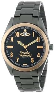 Vivienne Westwood Unisex-Armbanduhr St James Analog grün VV049BKGR