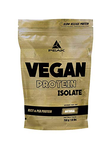 PEAK Vegan Protein Natural 750g | NEW DESIGN