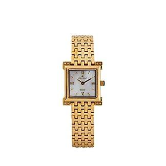 Oskar Emil Toledo SS – Reloj para Mujeres, Correa de Acero Inoxidable Color Plateado
