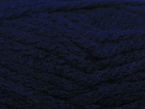 King Cole Big Value Super Chunky Knitting Wool / Yarn 100g Ball (Navy - 28) by King Cole