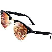 CGID Gafas de sol polarizadas retro medio marco clásico para Hombre y Mujer  MJ56 5d37f9c37d