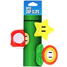 Nintendo Super Mario Bros. Chip Clips, Set of 3